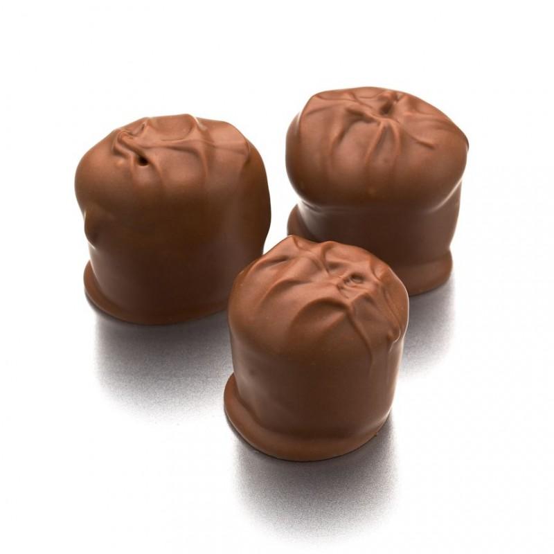 Chocolate Dipped Caramel Marshmallows